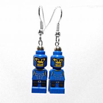 Gladiator Micro-figure Drop Earrings